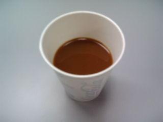 久々のコーヒー