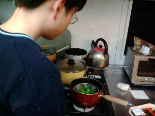 次男の料理