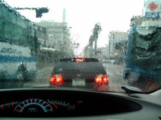 降雨、曇天
