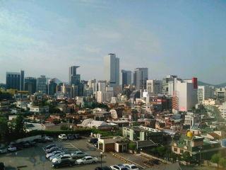 Ritz Carlton Seoulからの眺め