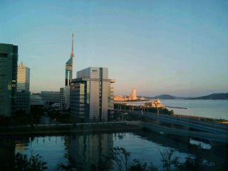 ホテルからの眺め