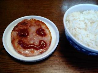 次男の朝食