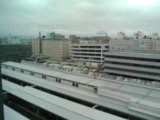 博多駅八階からの眺め