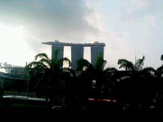 ホテルから眺め