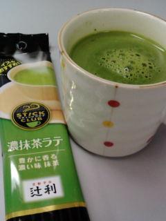 濃抹茶ラテ