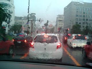 今日も豪雨