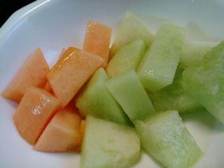 今朝の果物