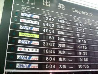とりあえず羽田空港へ