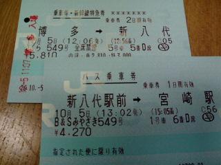 初めての九州新幹線